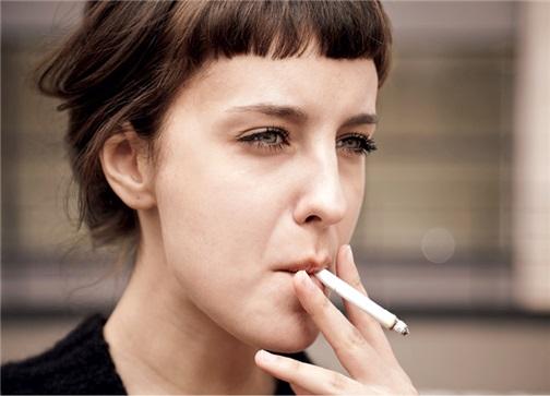 Raucherin extrem starke Extrem Starke