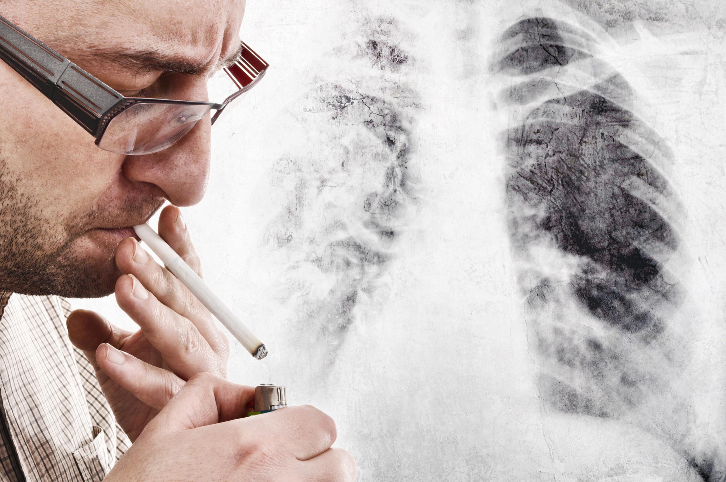 Lunge wieder sauber nach rauchen