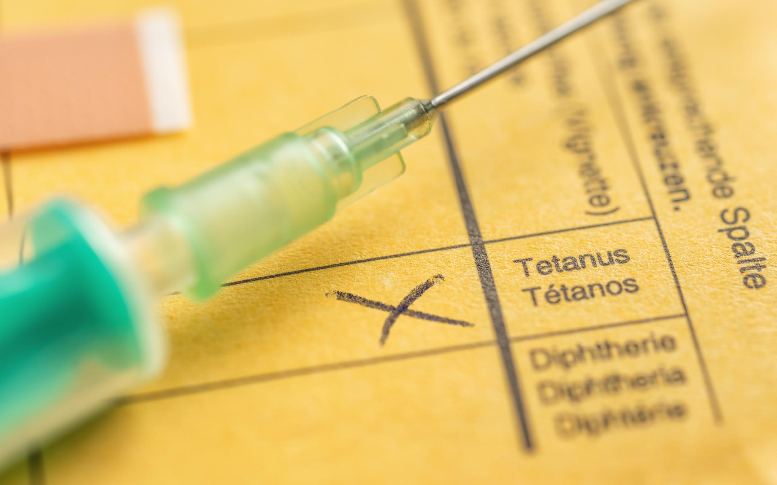 Tetanus Und Diphtherie Erwachsene Brauchen Keine Auffrischimpfungen Pz Pharmazeutische Zeitung